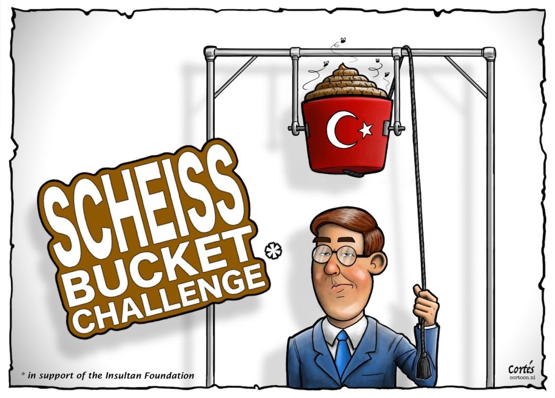 Scheiss Bucket Challenge v. Rutte - 1500