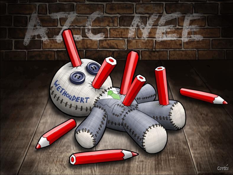 ED - Wethouder Voodoo Doll met tekst - Cortes - 1280 wide